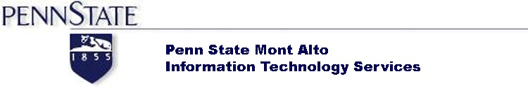 The Pennsylvania State University - Mont Alto - Information Technology Services - DreamSpark Premium