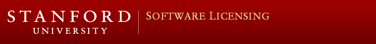 Stanford University -- Software Licensing