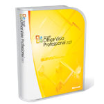 Microsoft Visio Professional 2007 (English) (Work at Home) - Mail Order