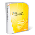 Microsoft Office Project Professional 2007 (English) (Work at Home) - Mail Order