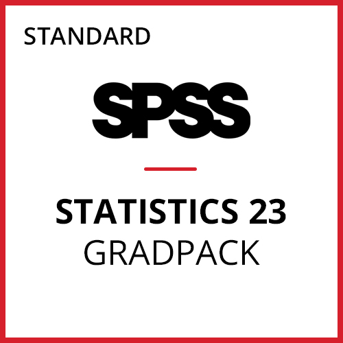IBM® SPSS® Statistics Standard GradPack 23 for Mac (06-Mo Rental)