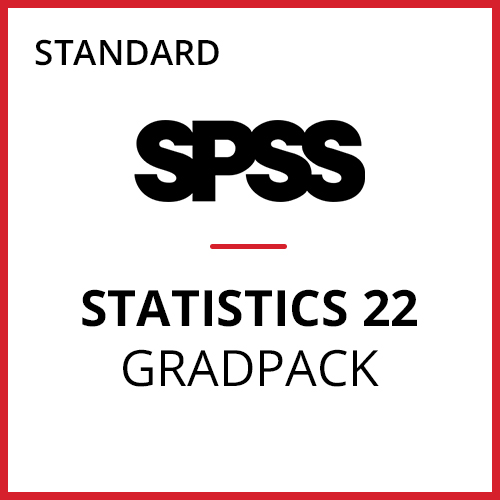 IBM® SPSS® Statistics Standard GradPack 22 for Windows (06-Mo Rental)