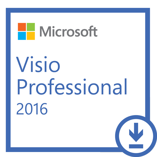 Visio Professional 2016 32/64-bit (English) - Microsoft Imagine