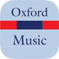 Oxford Dictionary of Music - Kleine Produktabbildung