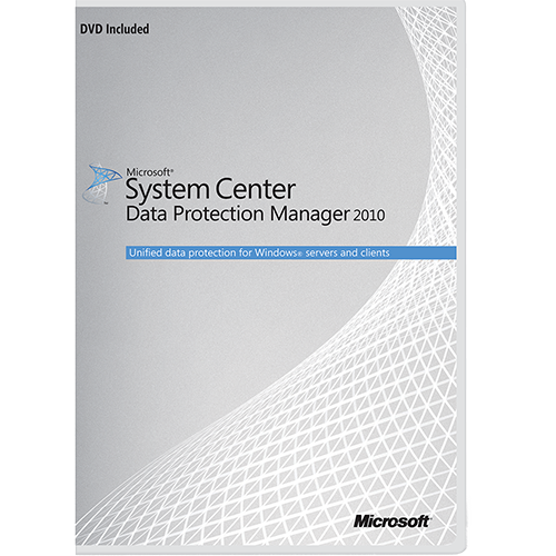 System Center Data Protection Manager 2010 64-bit (Multilanguage) - Microsoft Imagine