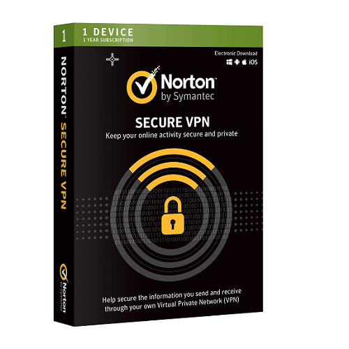Norton Secure VPN (1 year, 1 device)