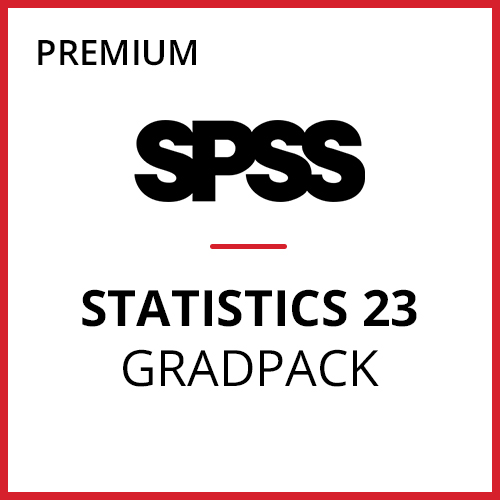 IBM® SPSS® Statistics Premium GradPack 23 for Windows (12-Mo Rental)