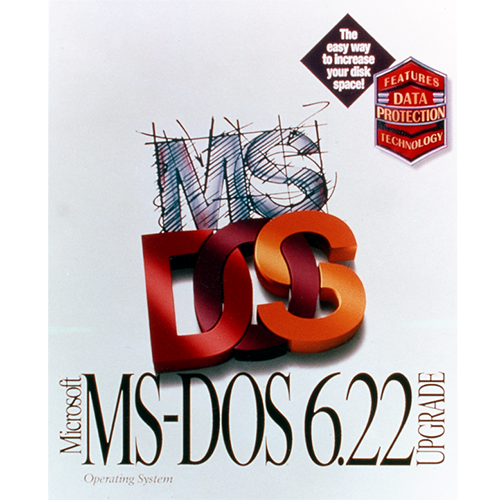 MS-DOS 6.22 (English) - Microsoft Imagine