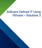 Software Defined IT Using VMware - Solutions 3 - Small product image