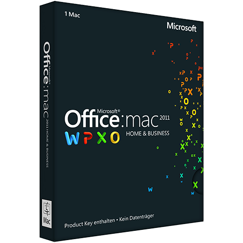 Microsoft Office 2011 for Mac (English) (Work At Home)