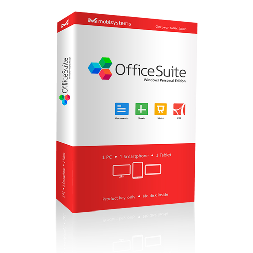 OfficeSuite Personal (12-month license)