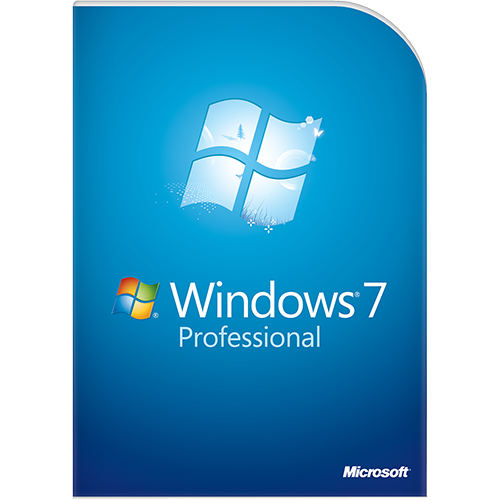 Microsoft Windows 7 Professional Upgrade 32/64-bit (English) (Work At Home)