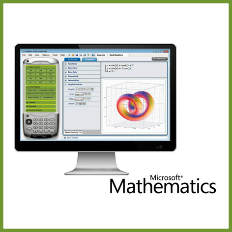Microsoft Mathematics 4.0 32-bit (English) - Microsoft Imagine