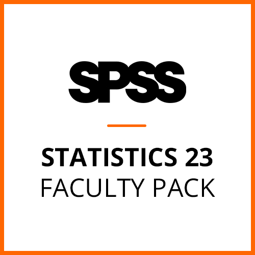 IBM® SPSS® Statistics Faculty Pack 23 for Windows (12-Mo Rental)