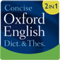 Concise Oxford English Dictionary & Thesaurus - Kleine Produktabbildung