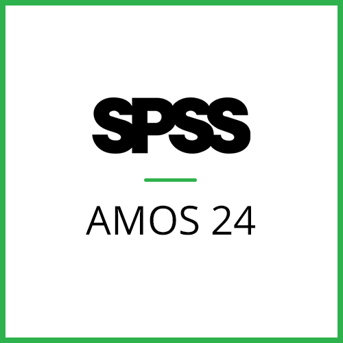 IBM® SPSS® Amos GradPack 24 for Windows (12-Mo Rental)