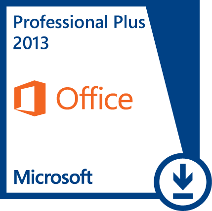Microsoft Office Professional Plus 2013 (English) (Work At Home)
