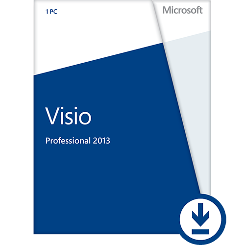 Visio Professional 2013 with SP1 32/64-Bit - Web Installer (English) - Microsoft Imagine